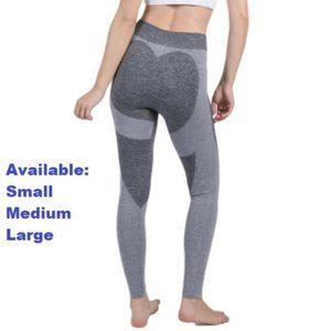Light/Medium Gray Yoga Pants